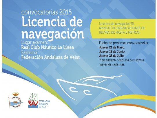 imagen de Licencia de Navegación en La Línea - Real Club Náutico de La Línea | Tu Club Náutico en La Línea de la Concepción